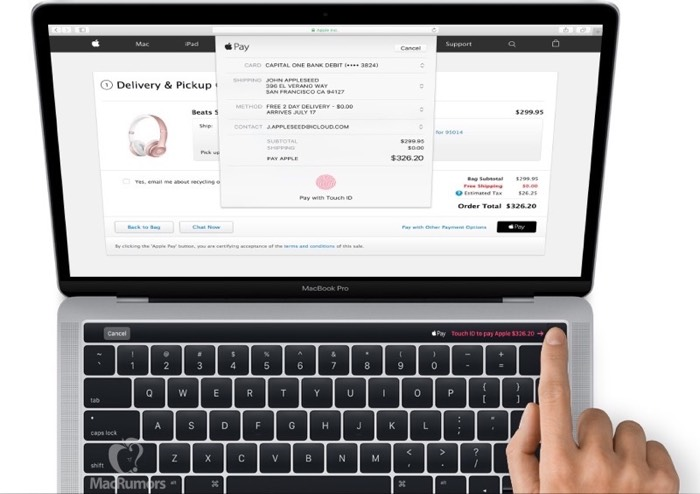 New MacBook Pro With Magic Toolbar Spotted In macOS Sierra 10.12.1