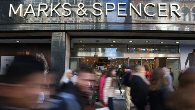 M&S beats Christmas sales forecast in clothing and homeware